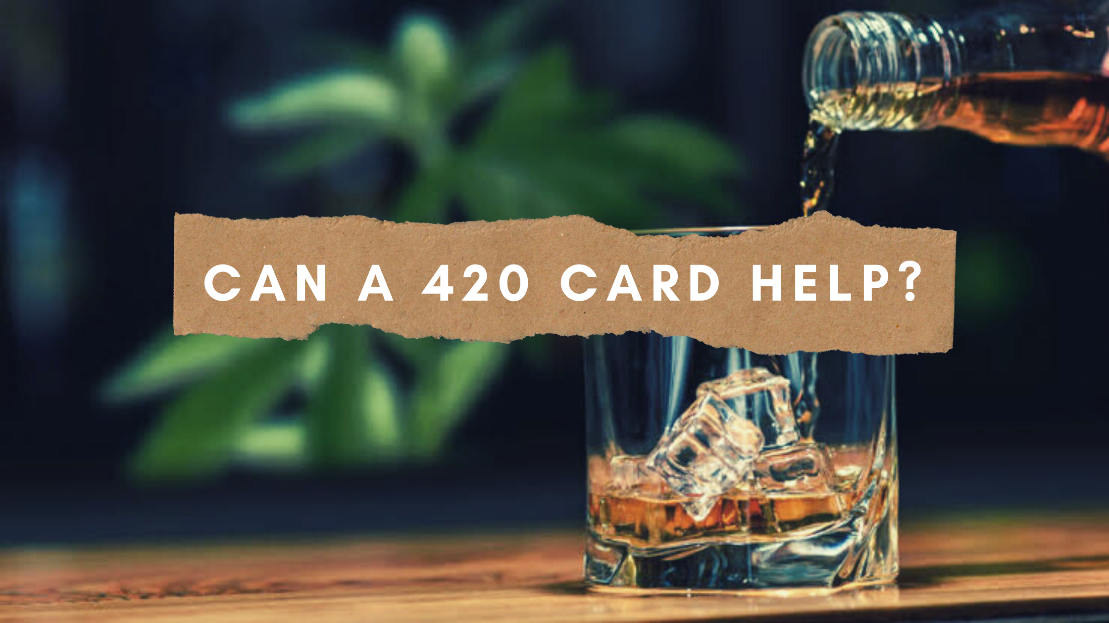 Cannabis for Alcohol Addiction