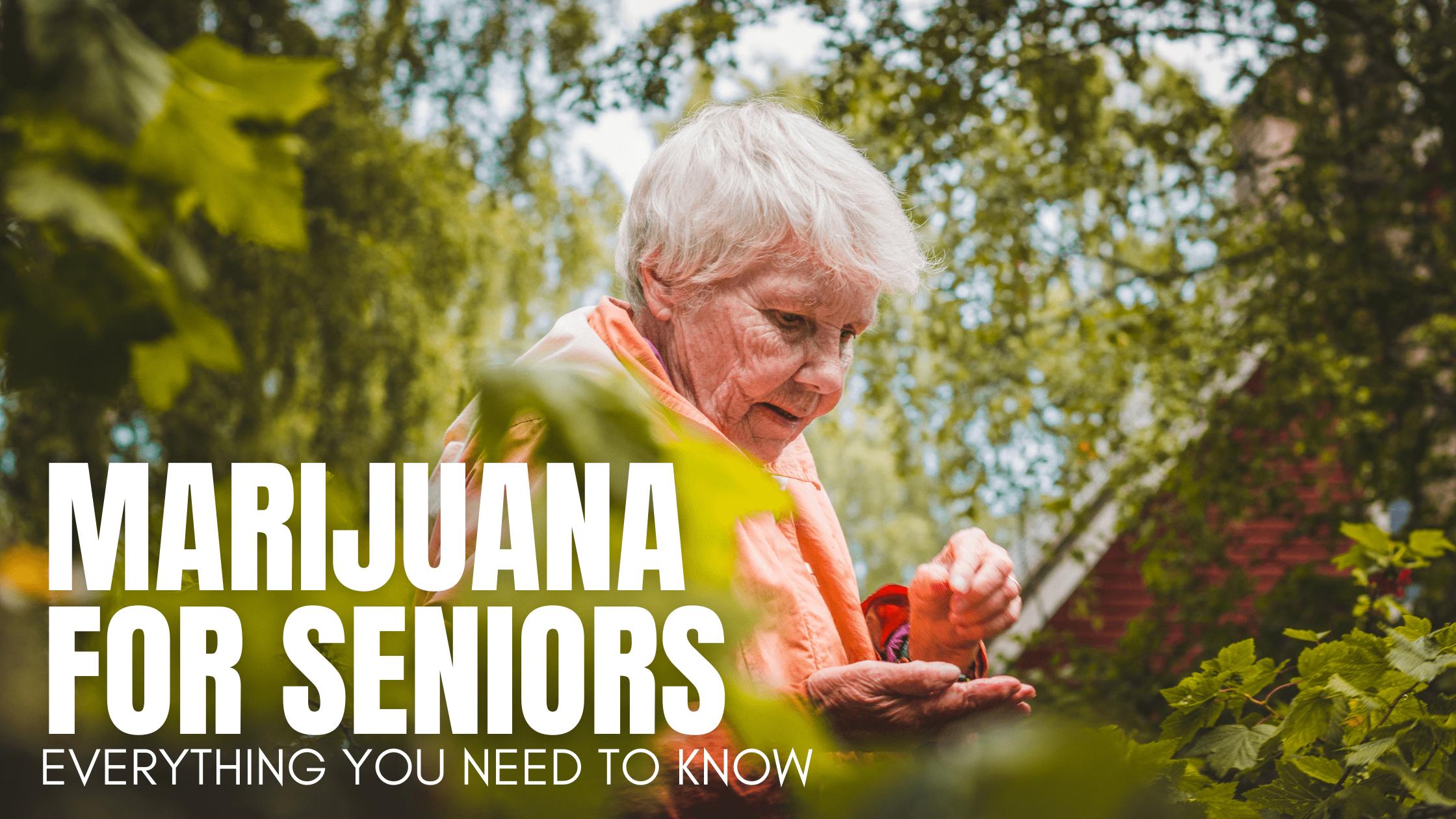 Medical Marijuana For Seniors - Everything You Need to Know